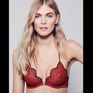 Free People Slow Dance Underwire Bra